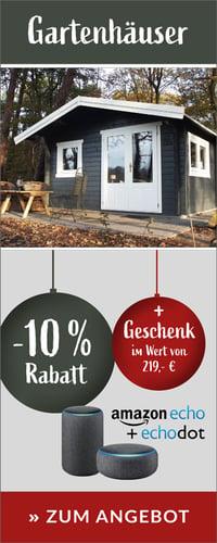 Gartenhaus -10%